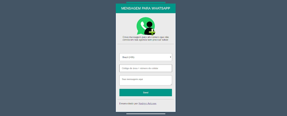 Extensão facilita iniciar conversas no whatsapp via Desktop.